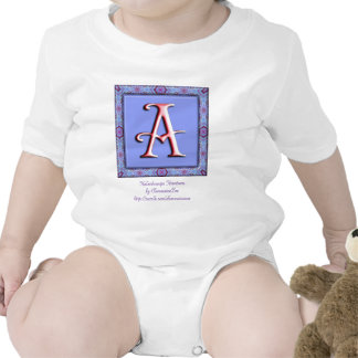 Monograma: Lila: A Traje De Bebé