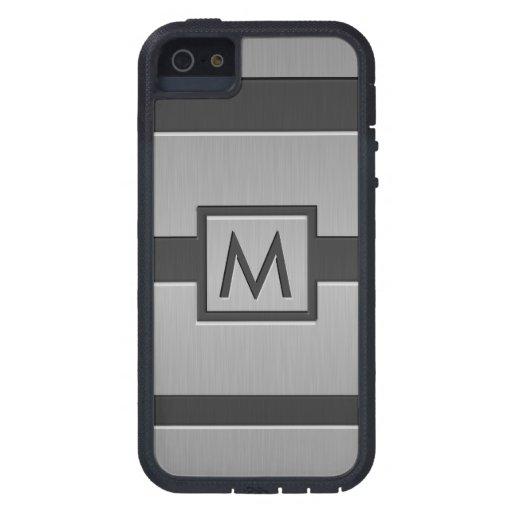 Monograma moderno del estilo iPhone 5 Case-Mate cárcasa