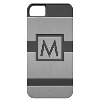 Monograma moderno del estilo iPhone 5 Case-Mate carcasa