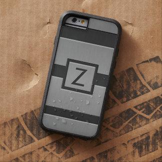 Monograma moderno del estilo funda de iPhone 6 tough xtreme