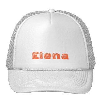 Monograma orange of order soles in target trucker hat