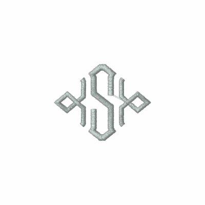 Monograma personalizado Deco Chaquetas Bordadas