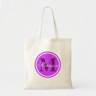 Monograma púrpura del prestigio