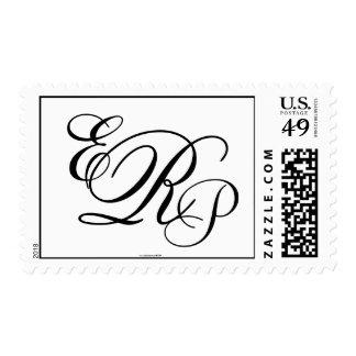 Monograma que casa el sello de las letras del ERP