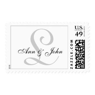 Monograma que casa el sello inicial de los nombres
