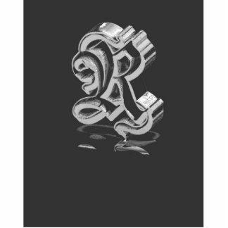Monograma R Pin Fotoescultura