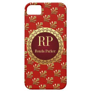 Monograma romano iPhone 5 Case-Mate protector
