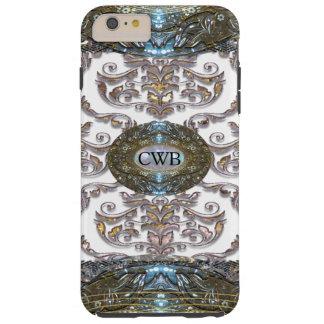 Monograma romántico barroco 6/6s de Veyla del Funda Para iPhone 6 Plus Tough