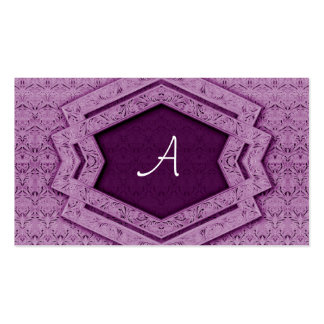Monograma - tarjeta de visita