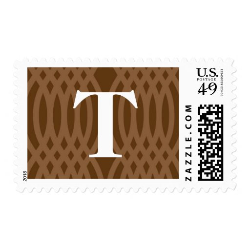 Monograma tejido adornado - letra T Envio