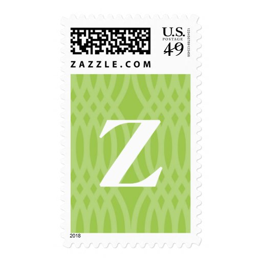 Monograma tejido adornado - letra Z Franqueo