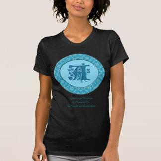Monograma: Turquesa: A Camiseta
