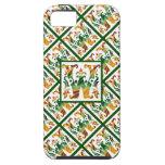 Monograma W inicial - decorativo y femenino iPhone 5 Cárcasa