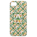 Monograma W inicial - decorativo y femenino iPhone 5 Cárcasas