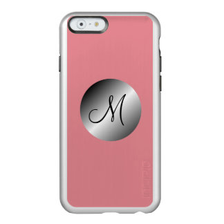 Monograma with choral bottom incipio feather® shine iPhone 6 case
