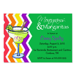 Monogramas e invitación de los Margaritas