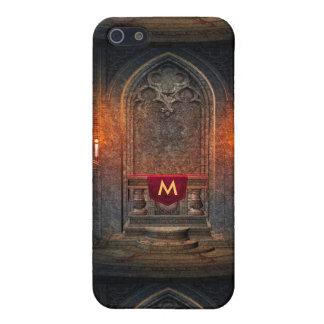 Monogramed Gothic Interior Architecture Case For iPhone SE/5/5s
