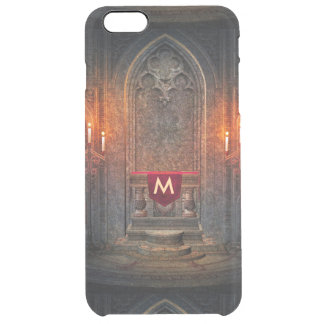 Monogramed Gothic Interior Architecture Clear iPhone 6 Plus Case