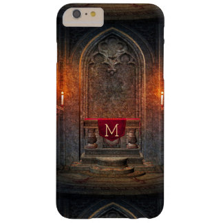 Monogramed Gothic Interior Architecture Element Barely There iPhone 6 Plus Case