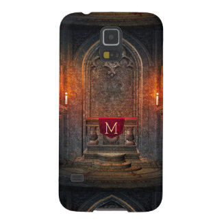 Monogramed Gothic Interior Architecture Element Galaxy S5 Cover