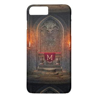 Monogramed Gothic Interior Architecture Element iPhone 7 Plus Case