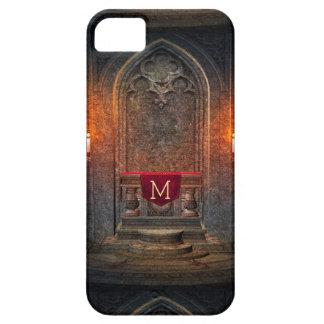 Monogramed Gothic Interior Architecture Element iPhone SE/5/5s Case