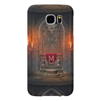 Monogramed Gothic Interior Architecture Element Samsung Galaxy S6 Case