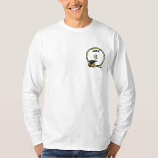 Monogramed Graduation Embroidered Long Sleeve T-Shirt