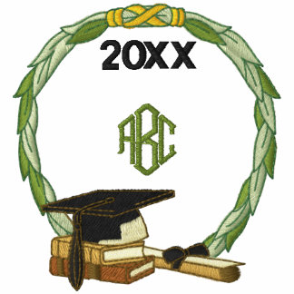 Monogramed Graduation