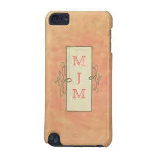 Monogramed Pink IPod Case iPod Touch 5G Case