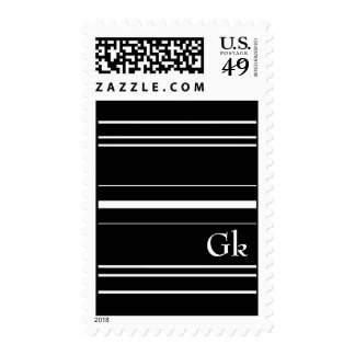 monogramm stamp