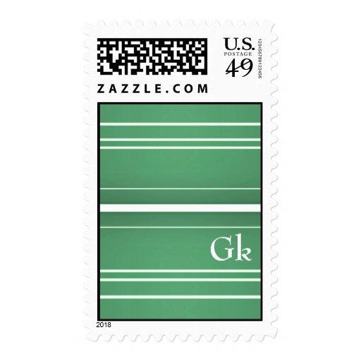 monogramm postage