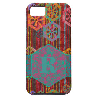 Monogrammed African Tribal iPhone SE/5/5s Case