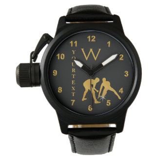Monogrammed and Personalized Wrestling Watches