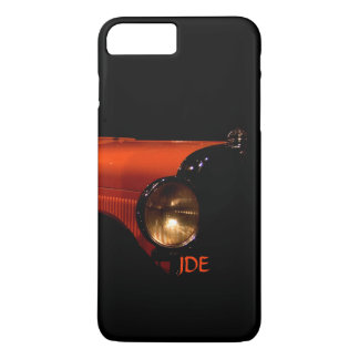 Monogrammed Antique Car in the Abstract iPhone 8 Plus/7 Plus Case
