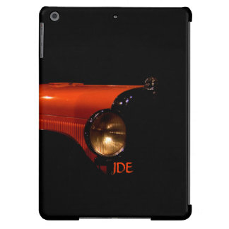 Monogrammed Antique FDR Car iPad Air Cover