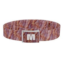 Monogrammed Bacon Belt