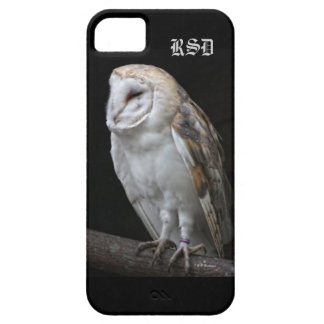 Monogrammed Barn Owl iPhone5 case iPhone 5 Covers