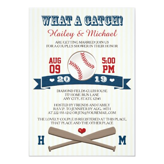 Baseball Bridal Shower Invitations Shilohmidwifery