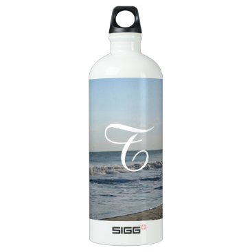 Beach Themed Monogrammed Beach Sand Bottle