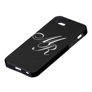 Monogrammed Black iPhone SE/5/5s Case