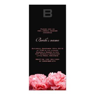 Monogrammed Bridal Shower Invitation