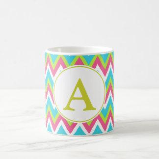 Monogrammed Bright Mug