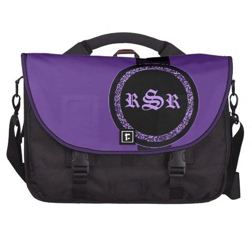 Monogrammed Commuter Bags