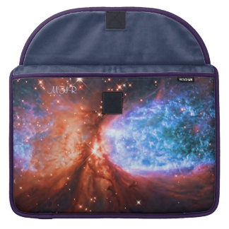 Monogrammed Constellation Cygnus, The Swan MacBook Pro Sleeve