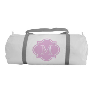 Monogrammed duffle bags for women and girls sports