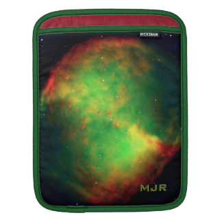 Monogrammed Dumbbell Nebula, The Fox Constellation Sleeves For iPads