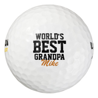 Monogrammed Father's Day Golf Balls