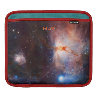 Monogrammed Fires of the Flame Nebula - in Orion iPad Sleeve