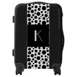 retro suitcase, stylish suitcase, custom monogram,